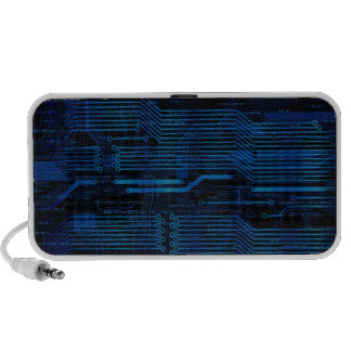 Tech style speakers