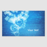 tech style sticker