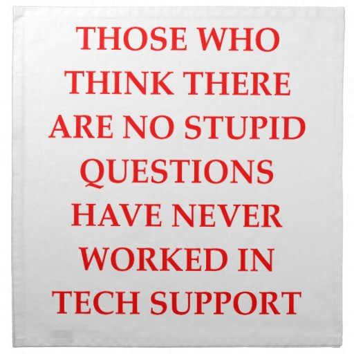 Funny Information Tech Support on Funny Information Technology