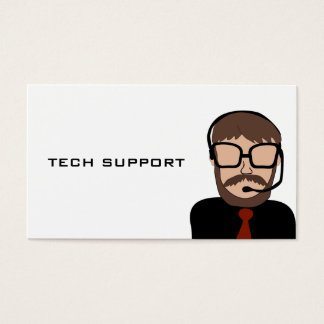 Tech Support Computer Business Card