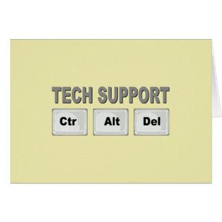 Tech Support Ctr Alt Del Card