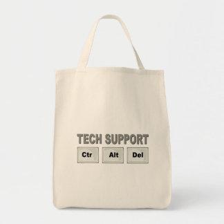Tech Support Ctr Alt Del Tote Bag