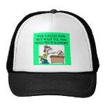 tech support joke trucker hat