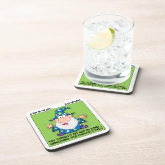 Tech Support Magic Beverage Coaster
