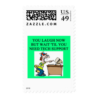 tech support stamps