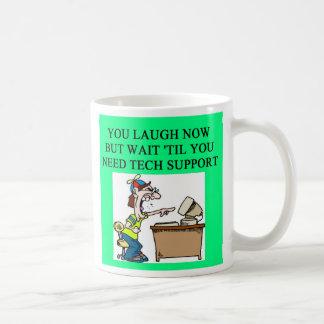 tech support, tech support mug