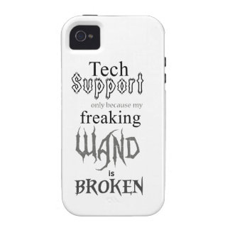 Tech Support Wand iPhone 4/4S Case