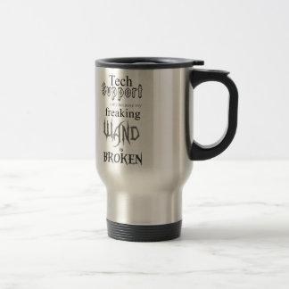 Tech Support Wand Travel Mug