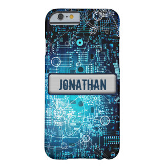 Tech with your own name plate! barely there iPhone 6 case