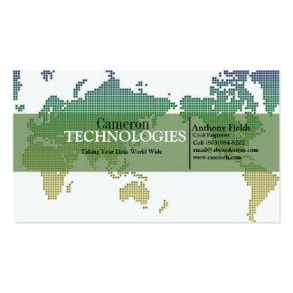 Tech World Business Card