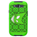 Techi Kitty Green Samsung Galaxy SIII Covers