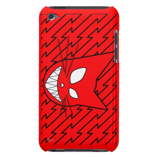 Techi Kitty Red iPod Touch Covers