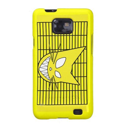Techi Kitty Yellow Samsung Galaxy S Cover