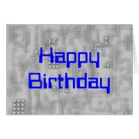 Techie HappyBirthday Card