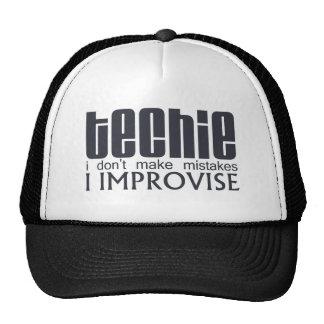 Techie Improvise Trucker Hat