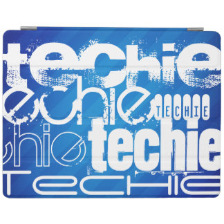 Techie; Royal Blue Stripes iPad Cover