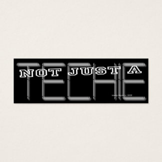 Techie - Social Media Personal Card