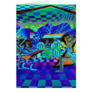 Techies Band Geometrix Series by CricketDiane Card