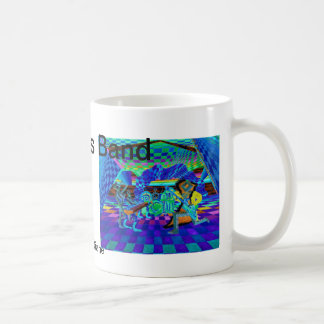 Techies Band Geometrix Series by CricketDiane Classic White Coffee Mug