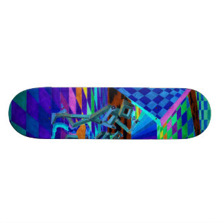 Techies Band Geometrix Skateboard by CricketDiane