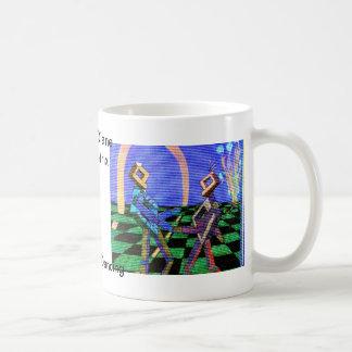 Techies Dancing CricketDiane Geometrix Products Coffee Mug