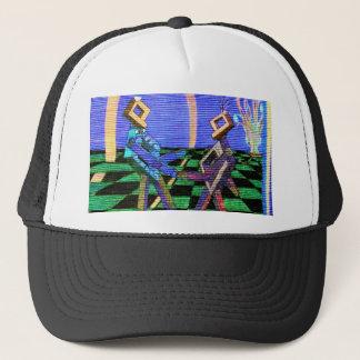 Techies Dancing CricketDiane Geometrix Products Trucker Hat