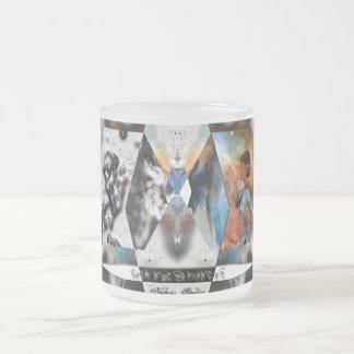 TechNech Frosted Glass Coffee Mug