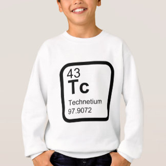 Technetium - Periodic Table science design Sweatshirt