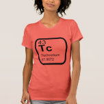 Technetium - Periodic Table science design T-Shirt