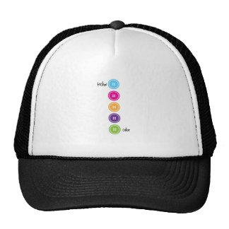Techni Color Mesh Hats