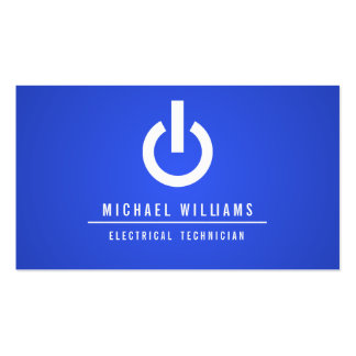 TECHNICAL CALLING CARD ELECTRICAL ELECTRICIAN BUSINESS CARD