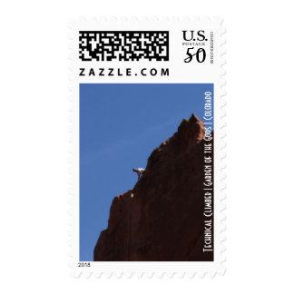 Technical Climber   Garden of the Gods   Colorado Postage