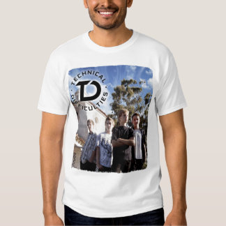 Technical Difficulties band photo Tee Shirt