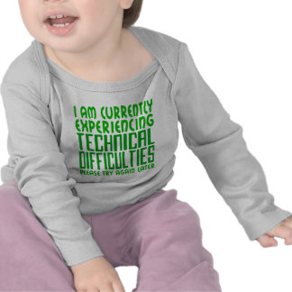Technical Difficulties T-shirts