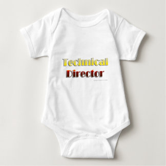 Technical Director (Text Only) Baby Bodysuit