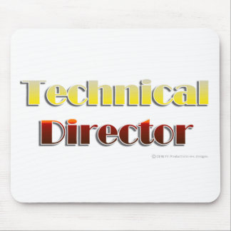 Technical Director Text Only Mouse Mats