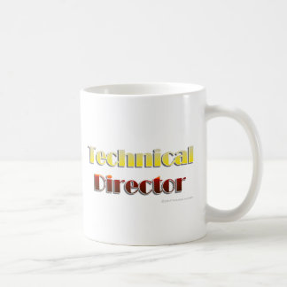 Technical Director (Text Only) Classic White Coffee Mug