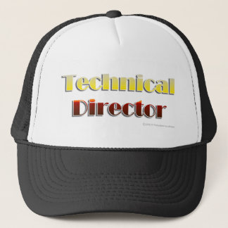 Technical Director (Text Only) Trucker Hat