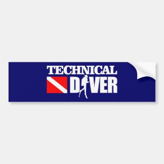 Technical Diver 2 Bumper Sticker