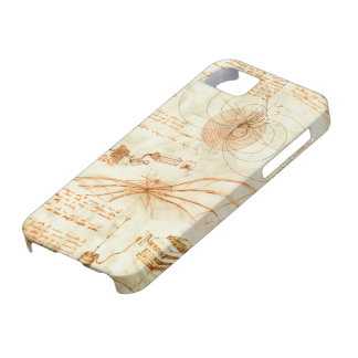 Technical drawing & sketches by Leonardo Da Vinci iPhone 5 Cases