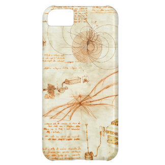 Technical drawing & sketches by Leonardo Da Vinci Cover For iPhone 5C