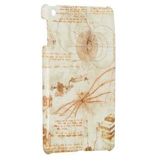 Technical drawing & sketches by Leonardo Da Vinci iPad Mini Case
