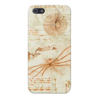 Technical drawing & sketches by Leonardo Da Vinci Cover For iPhone 5