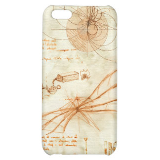 Technical drawing & sketches by Leonardo Da Vinci iPhone 5C Cover