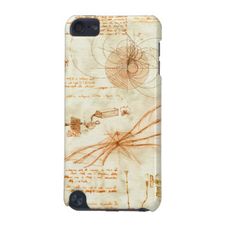 Technical drawing & sketches by Leonardo Da Vinci iPod Touch 5G Case
