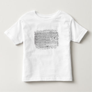 Technical drawings toddler t-shirt