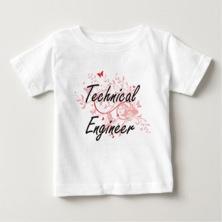 Technical Engineer Artistic Job Design with Butter Baby T-Shirt