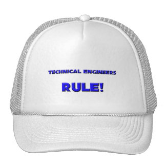 Technical Engineers Rule! Trucker Hat