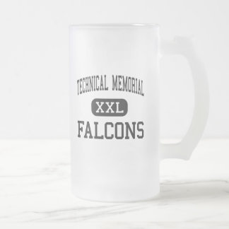 Technical Memorial - Falcons - High - Erie Frosted Glass Beer Mug