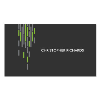 Technical Pattern in Gray II Double-Sided Standard Business Cards (Pack Of 100)